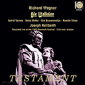 Wagner: Die Walk&uuml;re / Keilberth, Varnay, Brouwenstijn, et al