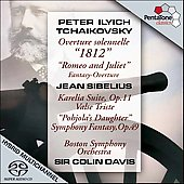 Tchaikovsky, Sibelius / Davis, Boston SO