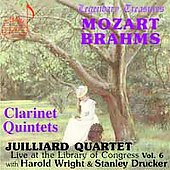 Library of Congress Vol 6 - Mozart, Brahms: Quintets