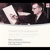 Shostakovich: Symphony no 9, etc / Flor, Erxleben, Berlin SO