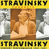 Stravinsky conducts Stravinsky - Violin Concerto in D, Pulcinella Suite, etc / Stravinsky, Stanske, Bergmann, et al