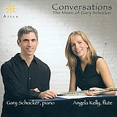 Music of Gary Schocker - Conversations, Mystery Pieces, etc / Angela Kelly, Gary Schocker