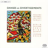 Danses et Divertissements - Taffanel, Poulenc, Jolivet, Tomasi / Stephen Hough, Berlin Philharmonic Woodwind Quintet