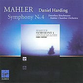 Mahler: Symphony no 4 / Daniel Harding, Mahler Chamber Orchestra