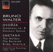 Bruno Walter conducts Dvor&#225;k & Smetana