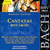 Bach: Cantatas, BWV 62-64