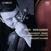 Bruch: Violin Concerto; Romance / Gluzman