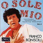 Neopolitan Songs Vol 2 / Franco Bonisolli