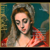 Boccherini: Stabat Mater; Symphonies / Agn&egrave;s Mellon,  Chiara Banchini,  Enrico Gatti,  Emilio Moreno