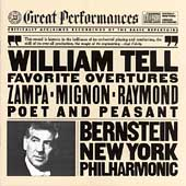 Favorite Overtures / Bernstein, New York Philharmonic