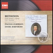 Beethoven: Violin Sonatas Nos. 5, 8 & 9 / Pinchas Zukerman, violin; Daniel Barenboim, piano