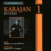 Karajan In Italy, Vol. 1