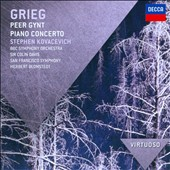 Grieg: Peer Gynt; Piano Concerto / Stephen Kovacevich, piano; Colin Davis; Herbert Blomstedt
