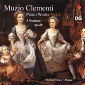 Clementi: Piano Works Vol 1 / Stefan Irmer