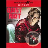 Quiet Riot: Threads and Grooves: Metal Health [With T-Shirt]