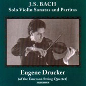 Bach: Solo Violin Sonatas and Partitas