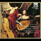 Purcell: Odes for St. Cecilia's Day; Funeral Sentences / Collegium Vocale Gent, Herreweghe