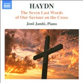 Haydn: The Seven Last Words of Our Saviour on the Cross / Jeno Jandó, piano