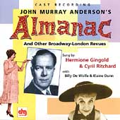John Murray Anderson (Director): Almanac