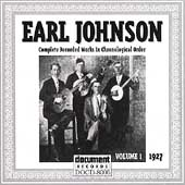 Earl Johnson (Fiddle): Complete Recorded Works, Vol. 1 (1927)