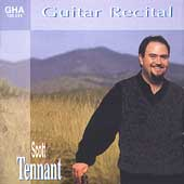 Scott Tennant - Guitar Recital