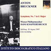 Bruckner: Symphony no 7 /Knappertsbusch, Vienna Philharmonic