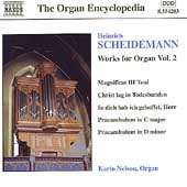 Organ Encyclopedia - Scheidemann: Organ Works Vol 2 / Nelson