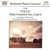 Romantic Piano Concertos - Field: Concertos no 2 & 4 / Frith