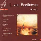 Beethoven: Songs / Marjanne Kweksilber