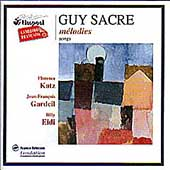 Sacre: M&eacute;lodies / Florence Katz, J-F. Gardeil, Billy Eidi