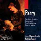 Parry: Symphonic Variations, Concertst&uuml;ck, etc / Bamert, LPO