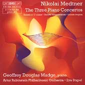 Medtner: Three Piano Concertos, etc / Stupel, Madge, et al