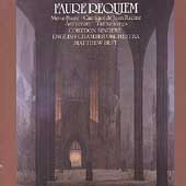 Faur&eacute;: Requiem, Cantique de Racine, etc / Matthew Best