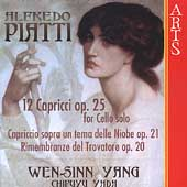 Piatti: Capricci Op 25 for Cello solo, etc / Yang, Yada