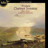 Brahms: Clarinet Sonatas 1 & 2 / Thea King, Clifford Benson