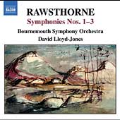 Rawsthorne: Symphony no 1 - 3 / Lloyd-Jones, et al