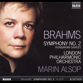 Brahms: Symphony no 2, etc / Alsop, London PO