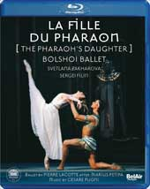 Pugni: La Fille Du Pharaon (Pharaoh's Daughter) / Bolshoi Ballet [Blu-Ray]