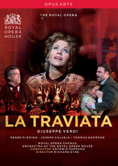 Verdi: La Traviata / Pappano/Royal Opera, Fleming, Calleja, Hampson [DVD]