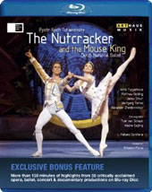 Tchaikovsky: The Nutcracker, bonus: Interviews with the choreographers and dancers / Dutch National Ballet, Florio [Blu-Ray]