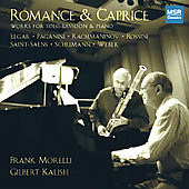 Romance & Caprice -Elgar, Rossini, et al / Morelli, et al