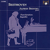Beethoven: Piano Variations & Bagatelles / Brendel
