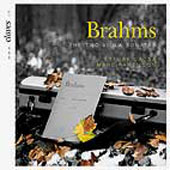 Brahms: 2 Sonatas for Violin and Piano / Ettore Causa, Marc Pantillon