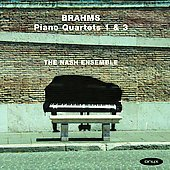 Brahms: Piano Quartets no 1 & 3 / Nash Ensemble