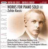 Béla Bartók: Works for Piano Solo, Vol. 4