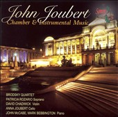 John Joubert: Chamber & Instrumental Music / David Chadwick, viols; Anna Joubert, cello