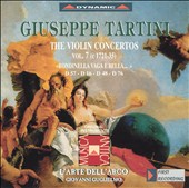 Giuseppe Tartini: The Violin Concertos, Vol. 7