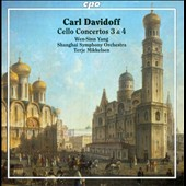 Carl Davidoff: Cello Concertos 3 & 4