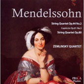 Mendelssohn: String Quartets Nos. 4 & 6; Capriccio