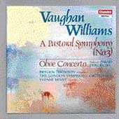 Vaughan Williams: Symphony no 3, etc / Thomson, London SO